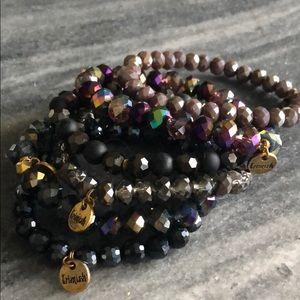 Purple/black Erimish Stack